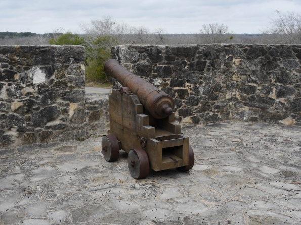 One of the canons at Bahia