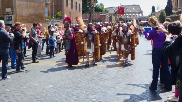 Roman war formation
