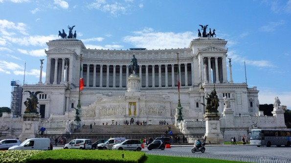 Piazza Venezia, AKA the Typewriter