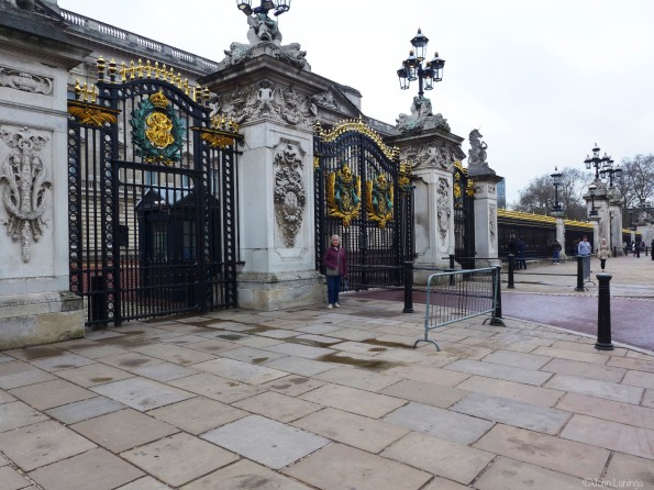 Main gates, Buckingham Palace