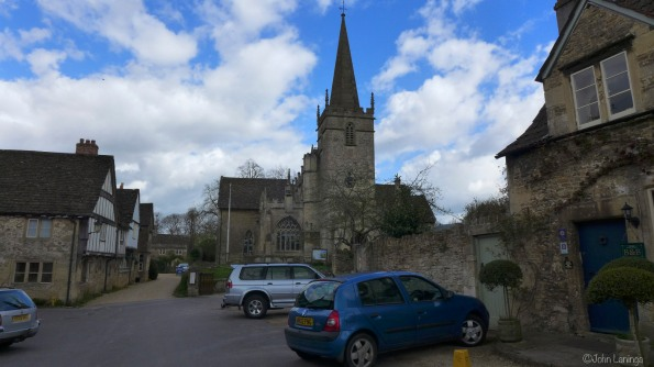 A church in Lacock where Harry Potter was filmed