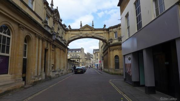A street in Bath
