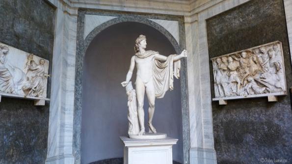 Statues everywhere