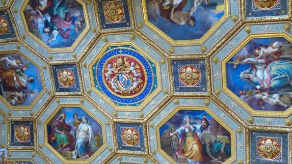 Beautiful ceiling artwork
