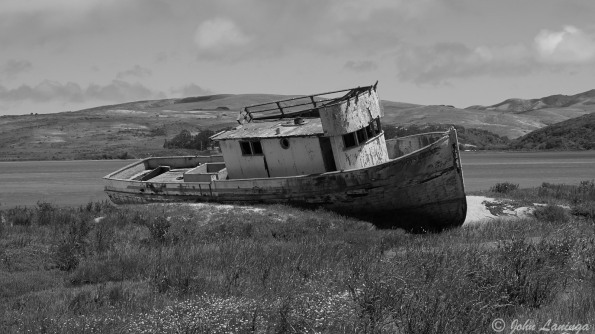 "An old ship, the ""Point Reyes"""