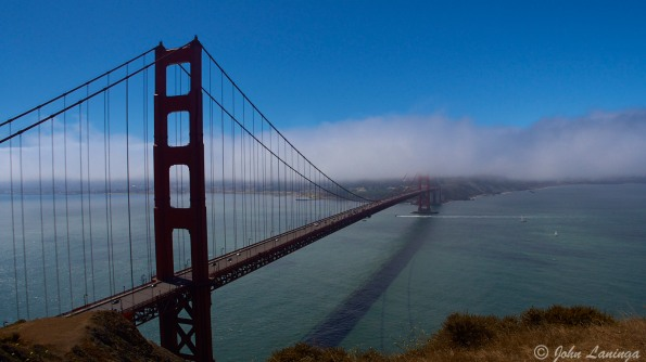What could be more iconic than the bridge in fog?