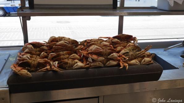 Yum!  Dungeness crab!