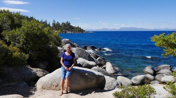 Romola, at the shoreline