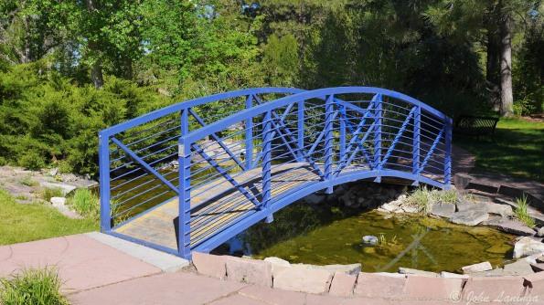 Footbridge over the creek