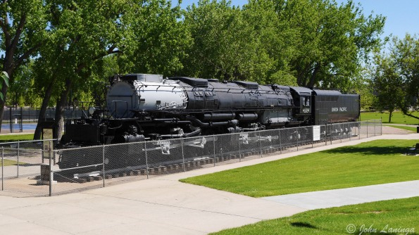 "Number 4004, ""Big Boy"" was one of the largest steam locomotives ever built."
