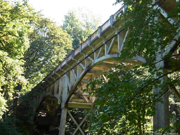This bridge built by the CCC in the 1930's
