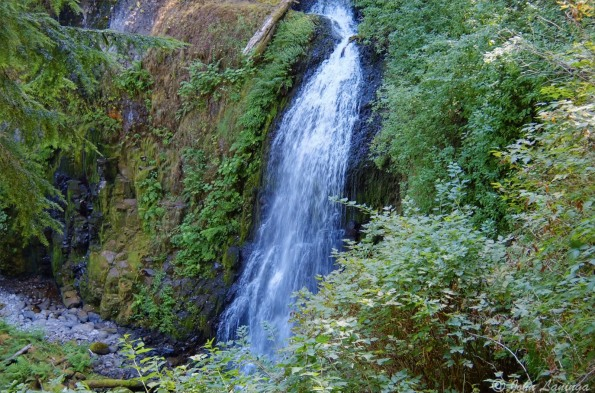 And here, at the top, Upper Elowah Falls