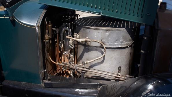 Detail of the boiler room
