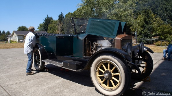 A good view of the Stanley Steamer