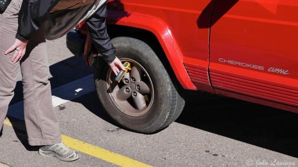 Mandatory brake check