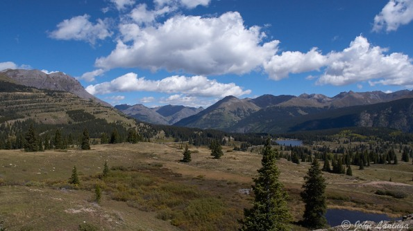 A view from Coal Bank Pass