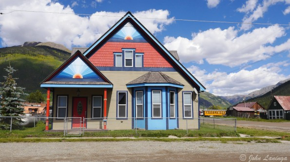 Some very colorfol houses