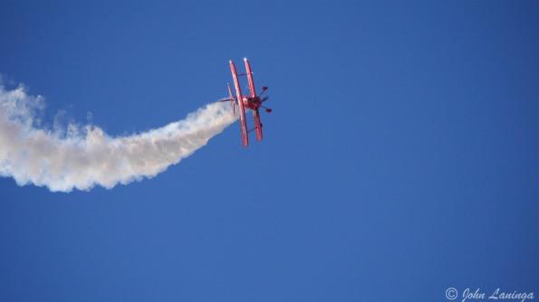 Spectacular biplane