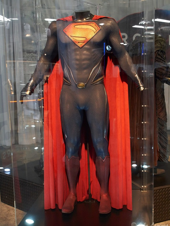 A Superman exhibit in the Car Show building