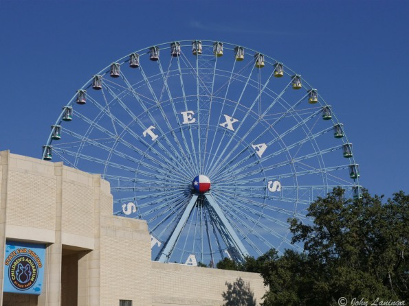 Big Texas Fair wheel