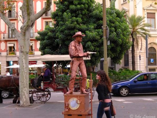 John Wayne in Barcelona?