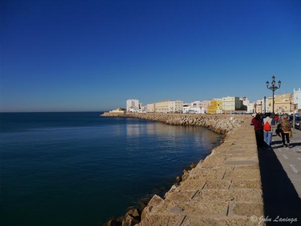 Cadiz waterfront