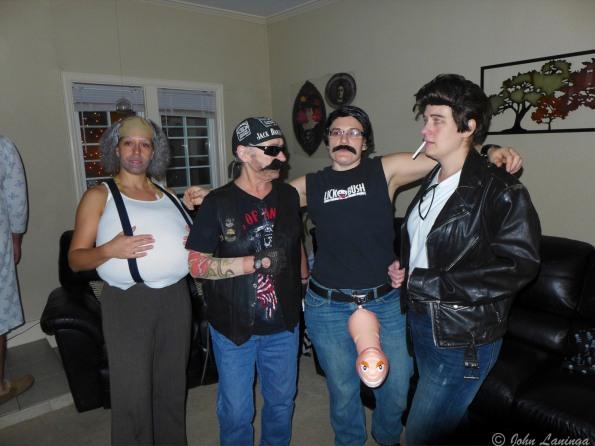 Tanya, Romola, Dallas, Stacy