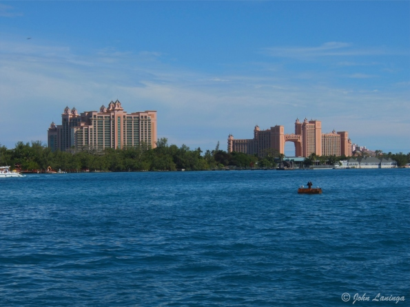 Atlantis, across the bay