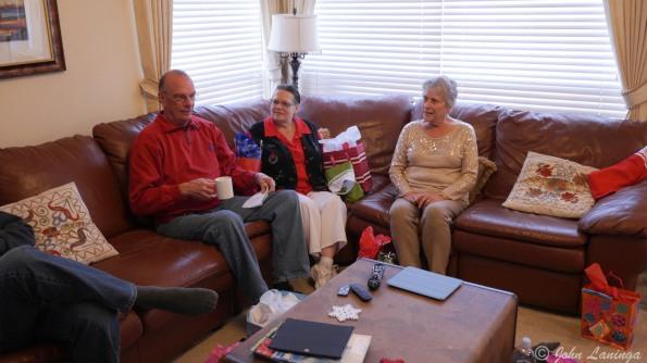 John, Val and Romola