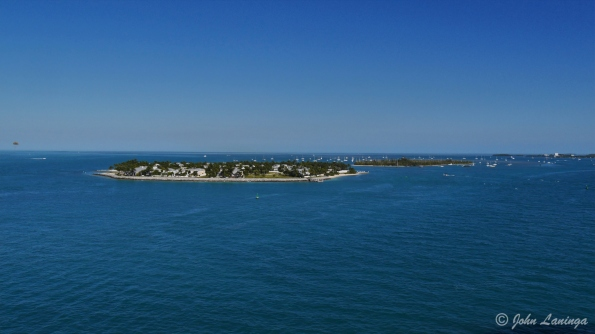 Entering in to Key West harbor