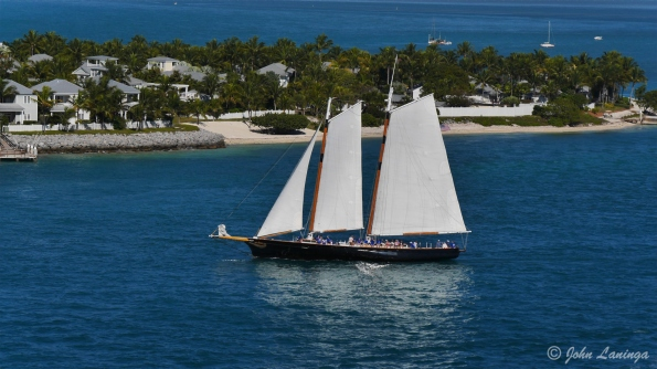 Some pretty sailing vessels took to the seas