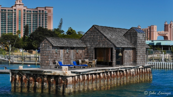 "This ""shack"" was destroyed in the Thunderball James Bond movie"