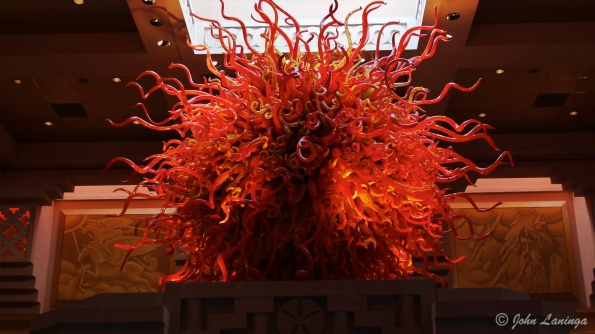 Chihuly in the entry way