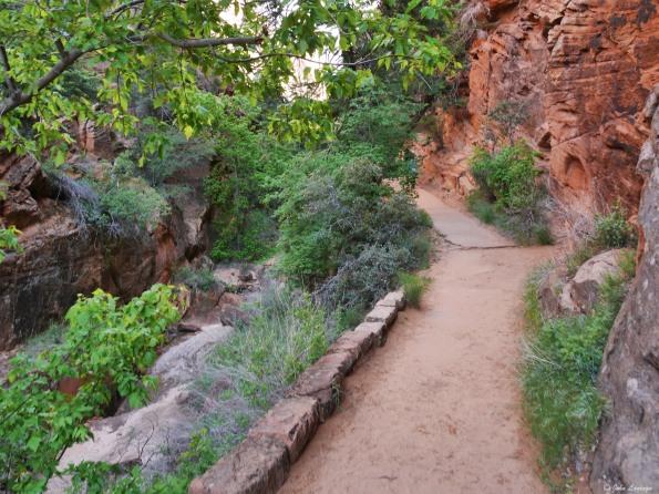 "Entrance to ""Refrigerator Canyon"""