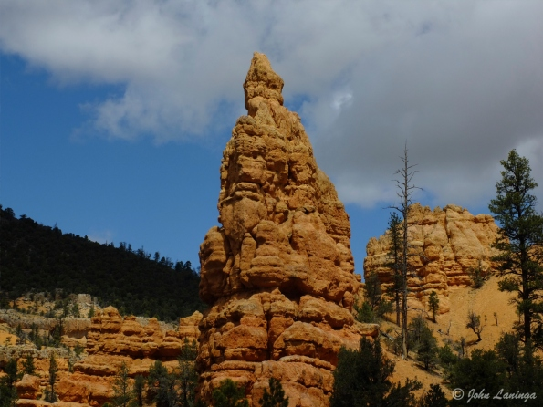 Rock formation at Red Canyon, on the way to Bryce