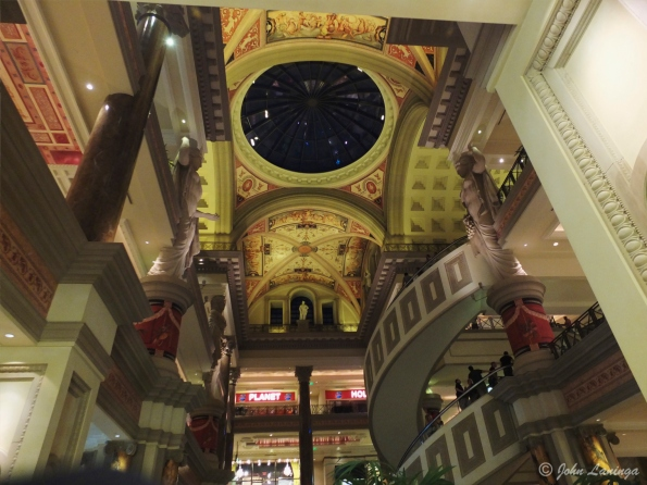 Ceiling in the Forum Shops