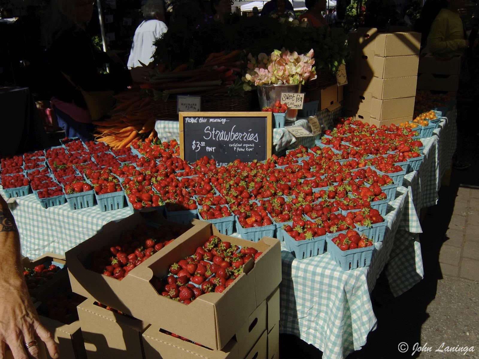 Farm market in Eugene