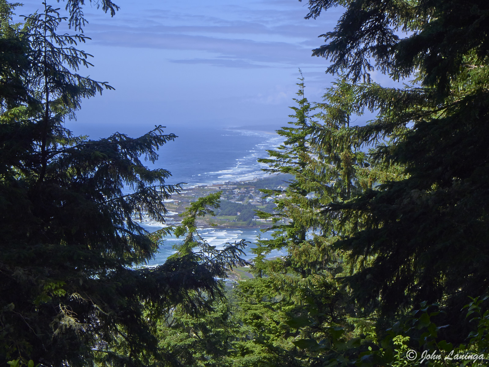 Looking north from Cape Perpetua