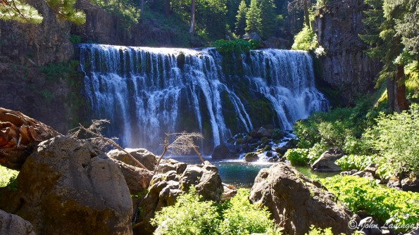 Middle Falls, McCloud River