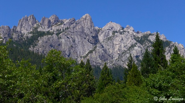 Castle Crags, granite, and 150 million years old