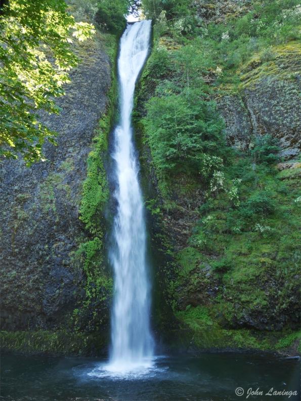 Lower Horsetail Falls