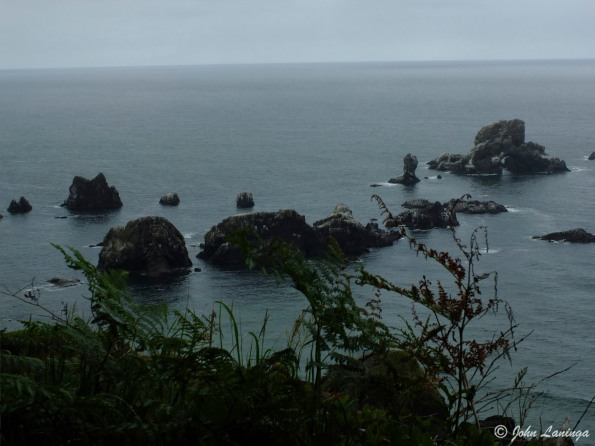 From the Acola Trail, near Canon beach