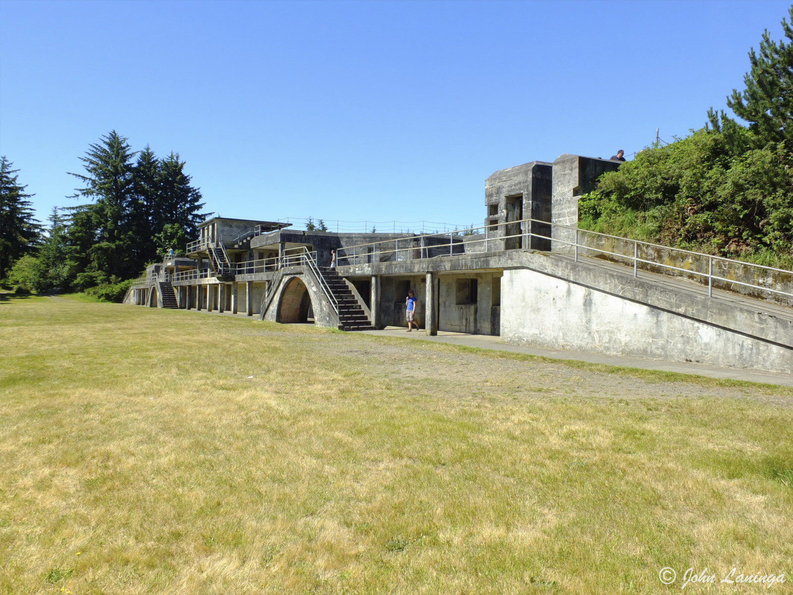 One of the batteries at Fort Stevens