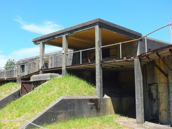 Part of Fort Stevens, built during the Civil War