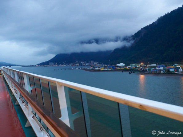 Early morning arrival at Juneau