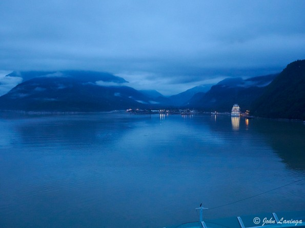 Early morning arrival in Skagway