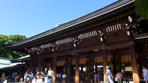 Main building at the Meiji shrine