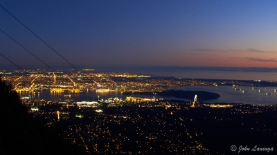 Downtown Vancouver from Grouse Mountain