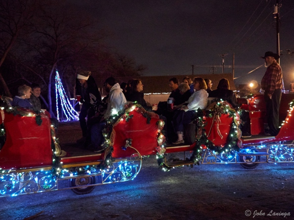 All aboard the sleigh!