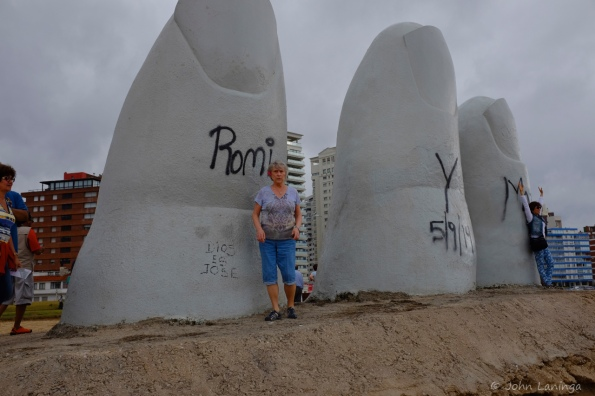 Artist feature on beach